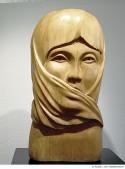 Abbildung: Afrika (Skulpturen) IV – Sprachlos / Hagar