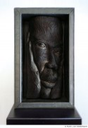 Abbildung: Afrika (Skulpturen) III – Schwarzer Denker