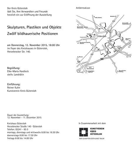 Abbildung: Skulpturen, Plastiken und Objekte –12 bildhauerische Positionen