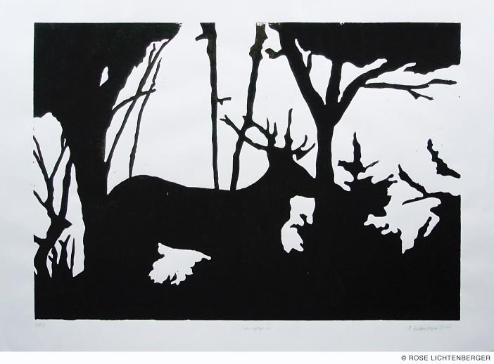 Abbildung: Camouflage IV – Hirsch