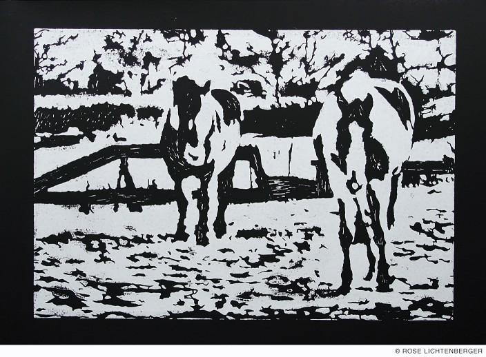 Abbildung: Camouflage I – Pferde
