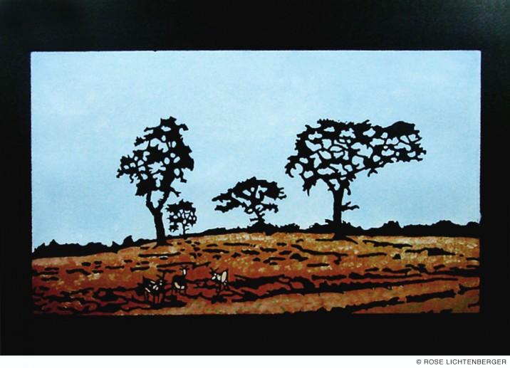 Abbildung: Camouflage VII – Bukolische Landschaft