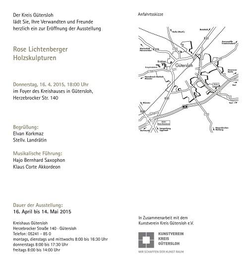 Abbildung: Rose Lichtenberger – Holzskulpturen