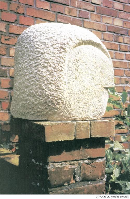 Abbildung: Kopf (Sandstein)