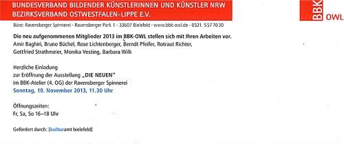 Abbildung: BBK 2013 – Die Neuen
